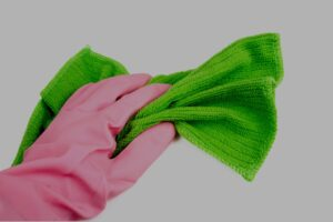 house cleaning glove